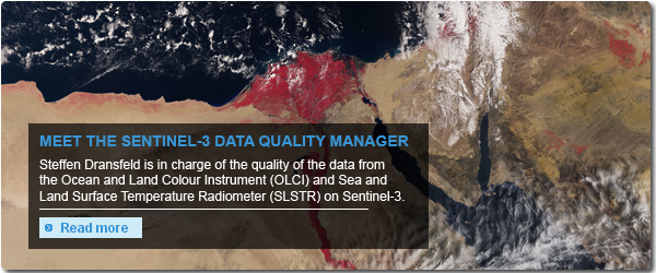 Interview with Sentinel-3 Data Quality Manager