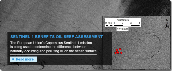 Sentinel-1 benefits oil seep assessment