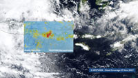 Sentinel-5P monitors Mount Agung