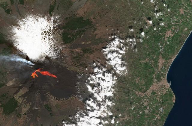 Etna sentinel-2