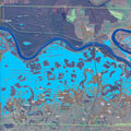 Image for Sentinel-1 aids Balkan flood relief